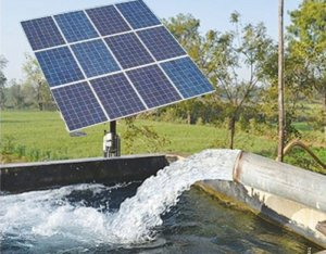 Agricultural solar power in Ada